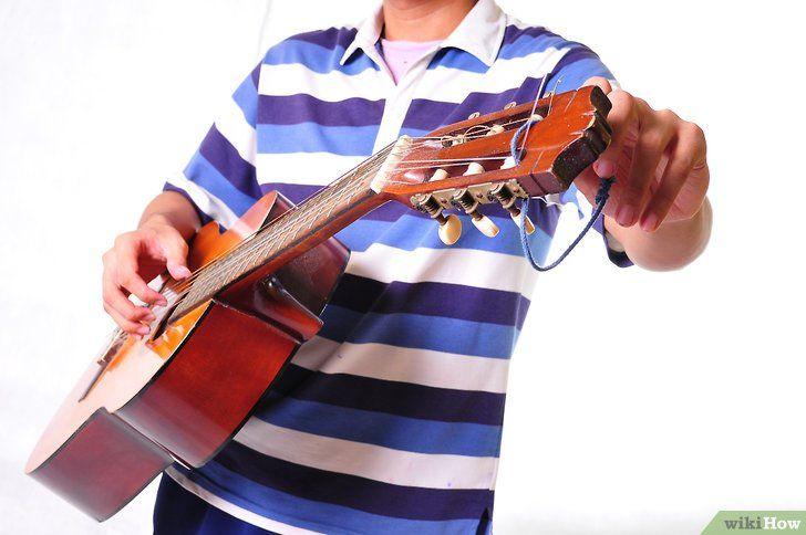 Imagine intitulată Începeți să învățați chitara Pasul 10