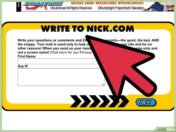 Contactați Nickelodeon