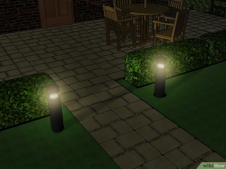 Imaginea intitulată Instalați iluminarea de joasă tensiune Pasul 6