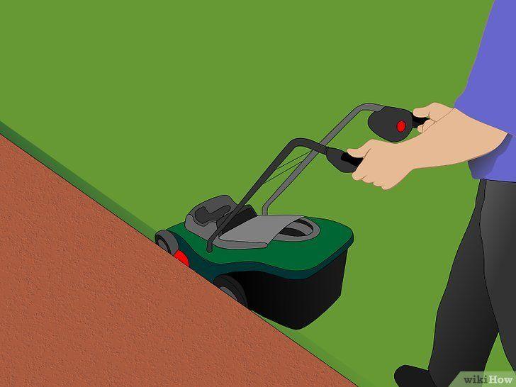 Obțineți o margine exactă a gazonului fără tăietor de margine
