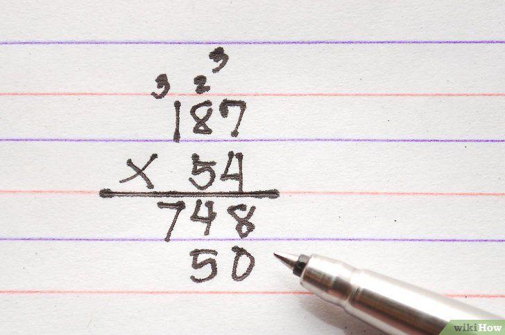 Imaginea intitulată Multiplicare pasul 7