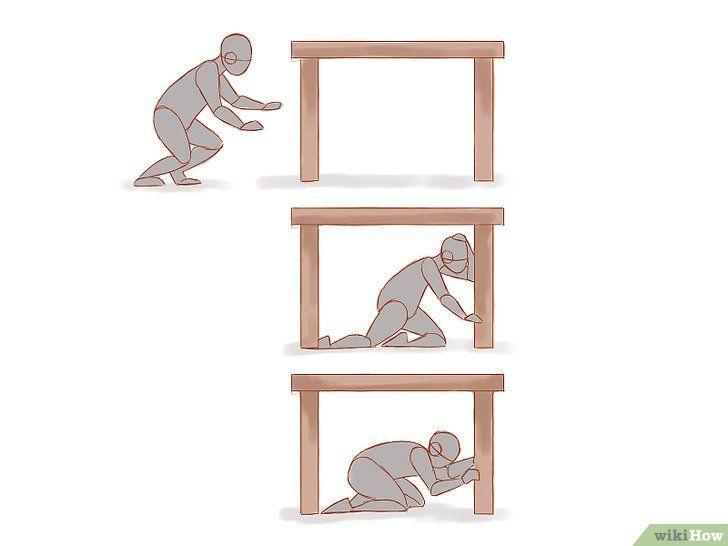 Să se comporte corect în timpul unui cutremur