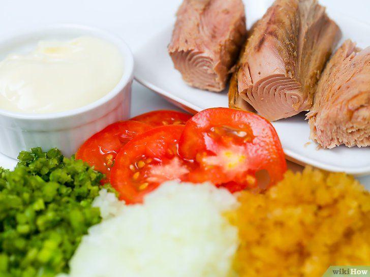 Imaginea intitulă Make Salata de tonă Pasul 1