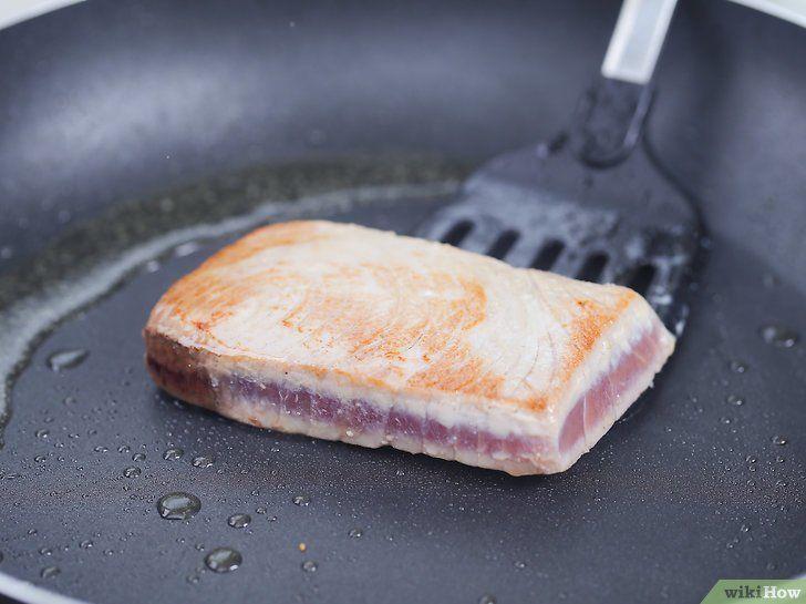 Imaginea intitulă Make Salmon Tuna Pasul 13