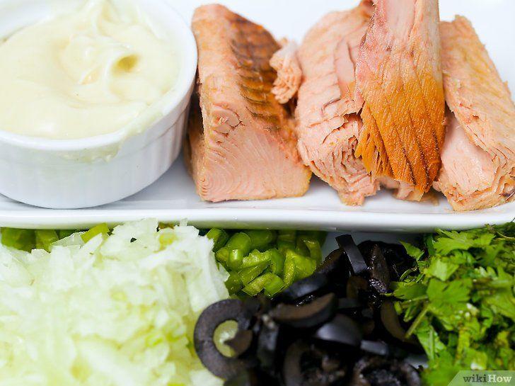 Imaginea intitulă Faceți salata de ton 20