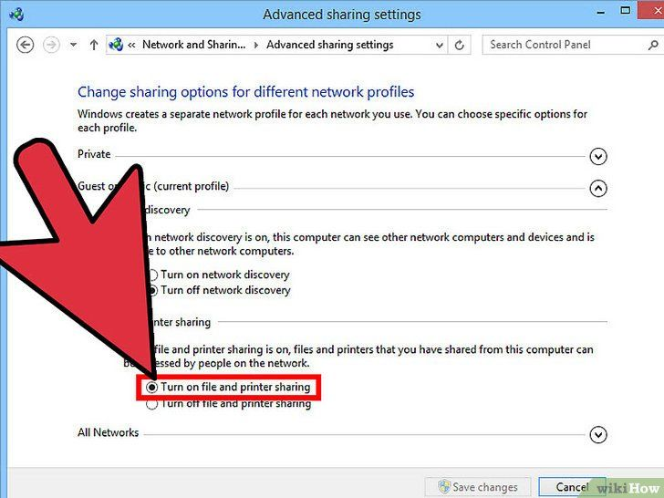 Imagine intitulată Conectați Vista și Windows 7 Pasul 3
