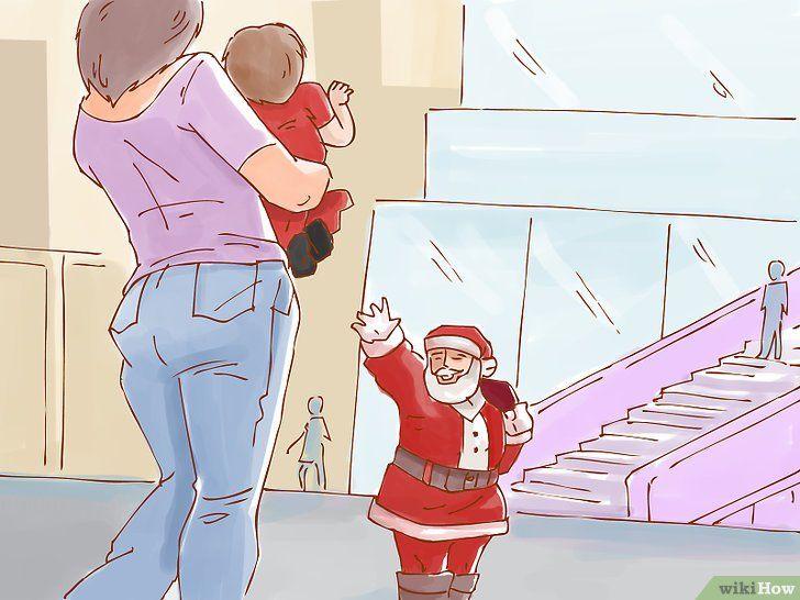 Imagine cu titlul Creați o tradiție de lungă durată pentru copii`s First Christmas Step 13