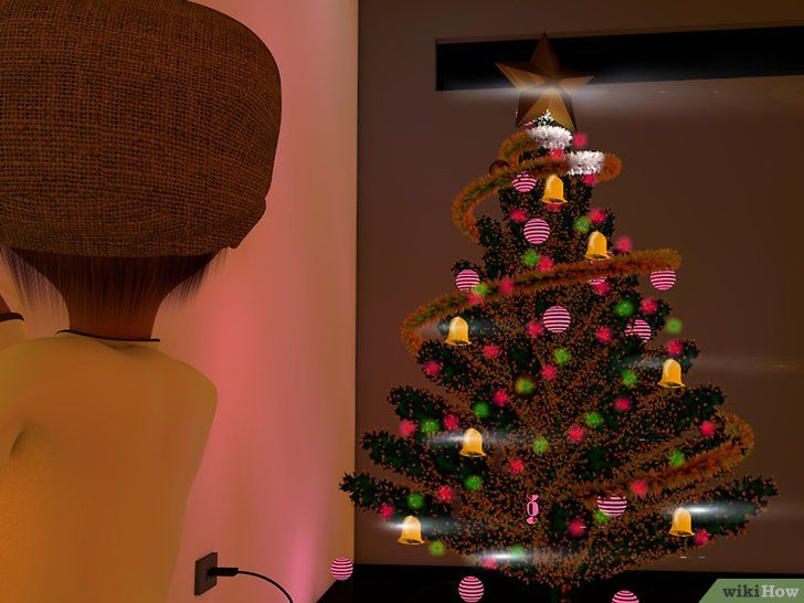 Imagine cu titlul Decorați un Pom de Crăciun Pasul 13