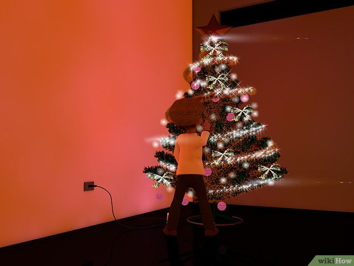 Imagine cu titlul Decorați un Pom de Crăciun Pasul 14