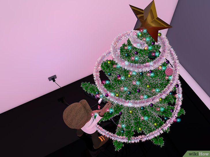 Imagine cu titlul Decorați un Pom de Crăciun Pasul 17