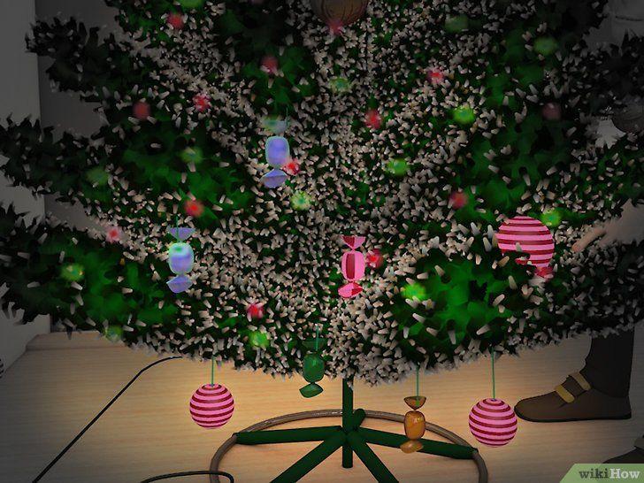 Imagine cu titlul Decorați un Pom de Crăciun Pasul 9