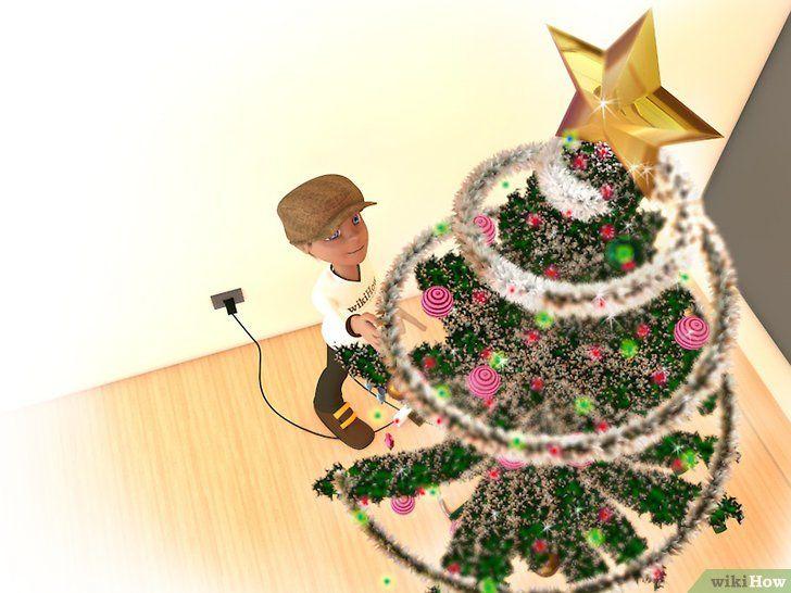 Imagine cu titlul Decorați un Pom de Crăciun Pasul 11