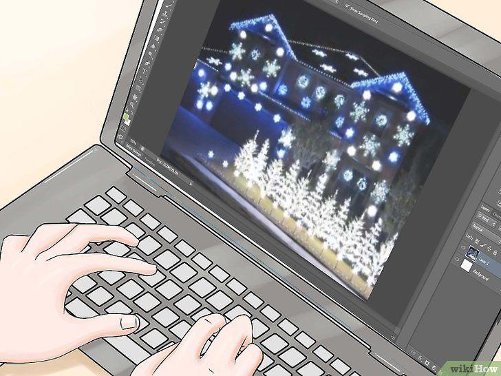 Imaginea intitulă Asigurați-vă lumina de Crăciun Flash la muzică Pasul 6