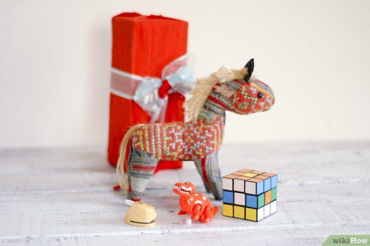 Imaginea intitulată Organizează un Intro de schimb de cadouri albe pentru elefant