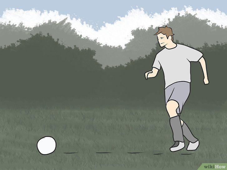 Imaginea intitulată Kick Like Cristiano Ronaldo Pasul 3