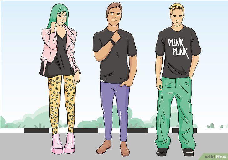 Cum sa devii un punk
