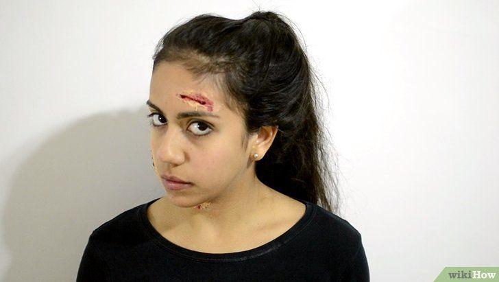 Imagine cu titlul Aplicați Zombie Makeup Pasul 16