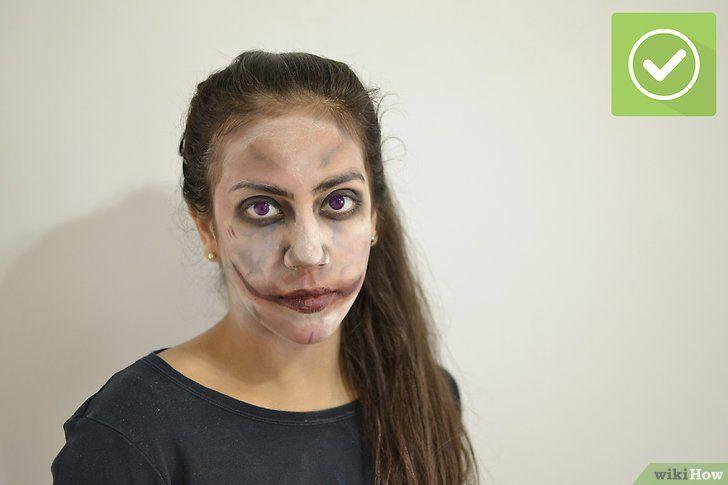 Imaginea intitulată Aplicați machiajul zombie Pasul 9