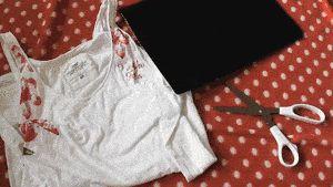 Cum să faci franjuri pe o cămașă