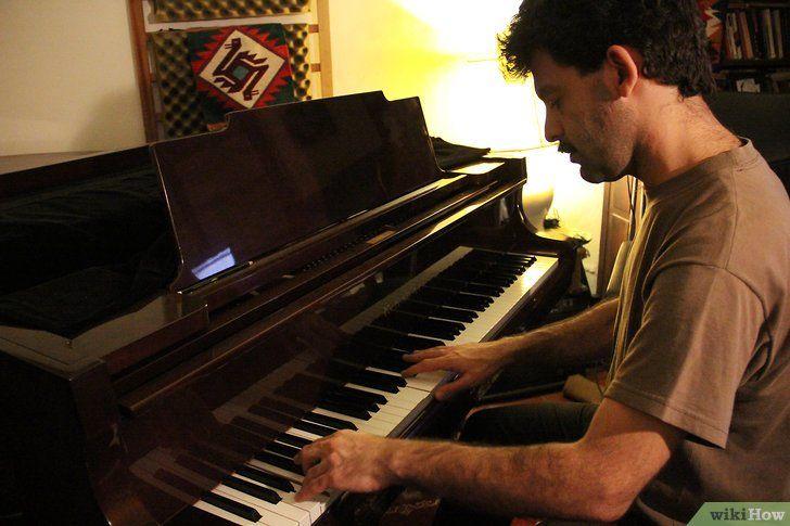 Cum să predați pianul
