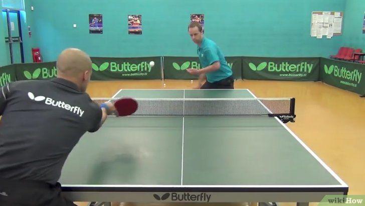 Cum se joacă ping pong sau tenis de masă