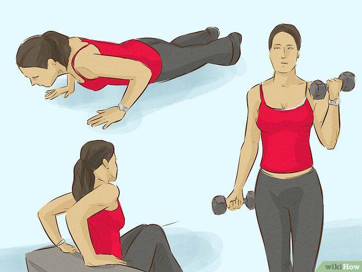 Cum să scapi de brațele rănite