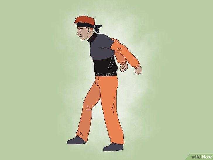 Imagine cu denumirea Run Like Naruto Pasul 3