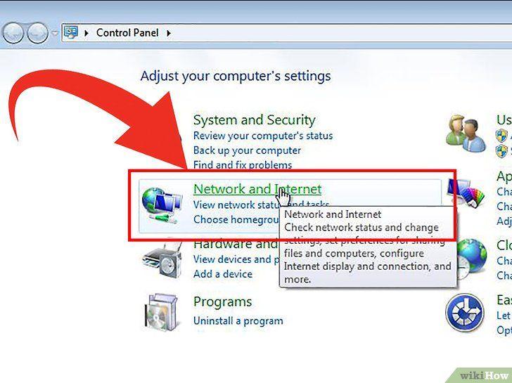 Imaginea intitulată Conectați Windows 8 la Windows 7 Pasul 2Bullet2