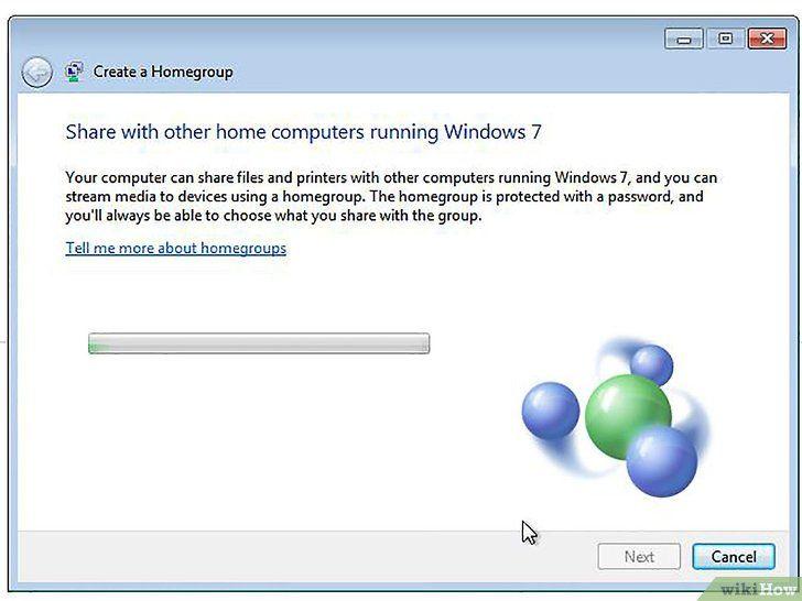 Imagine intitulată Conectați Windows 8 la Windows 7 Pasul 2Bullet5