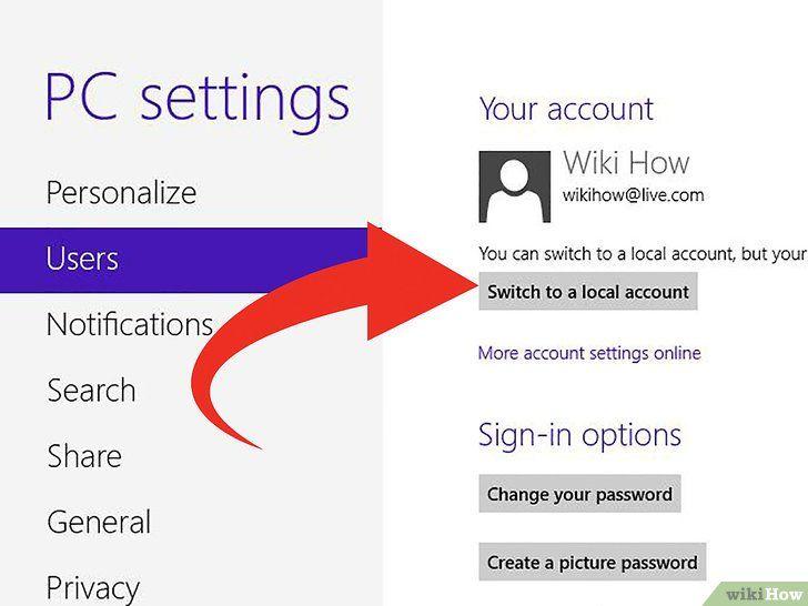 Imagine intitulată Conectați Windows 8 la Windows 7 Pasul 2Bullet6