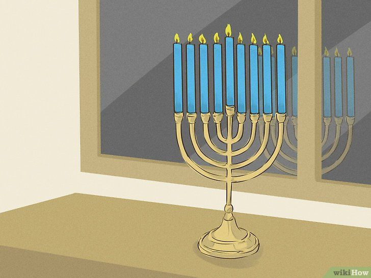 Imaginea intitulată Lumina unui meniu din Chanukah Pasul 11