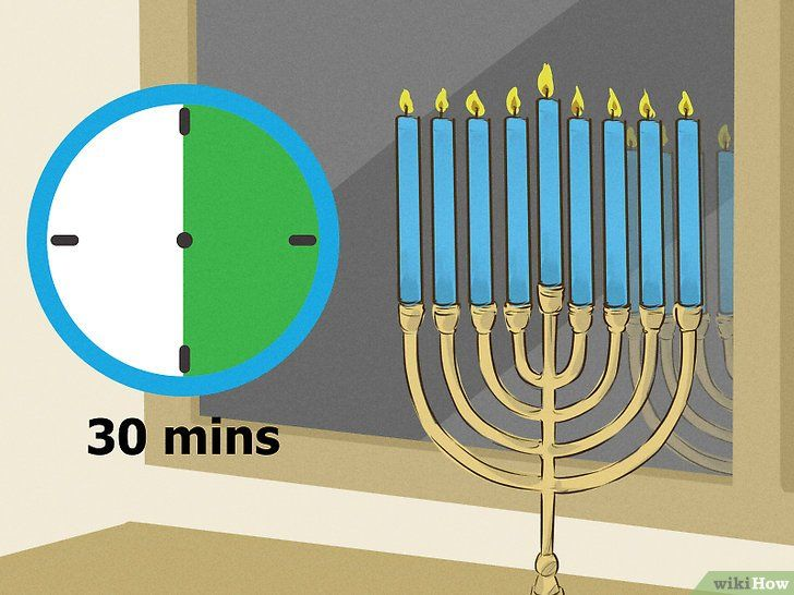 Imaginea intitulată Lumina unui meniu din Chanukah Pasul 12