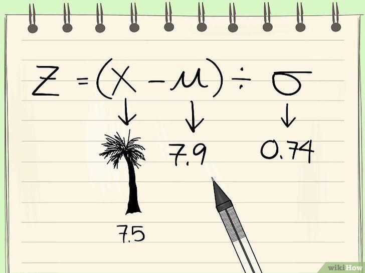 Imaginea intitulată Calculate Z Scores Step 13