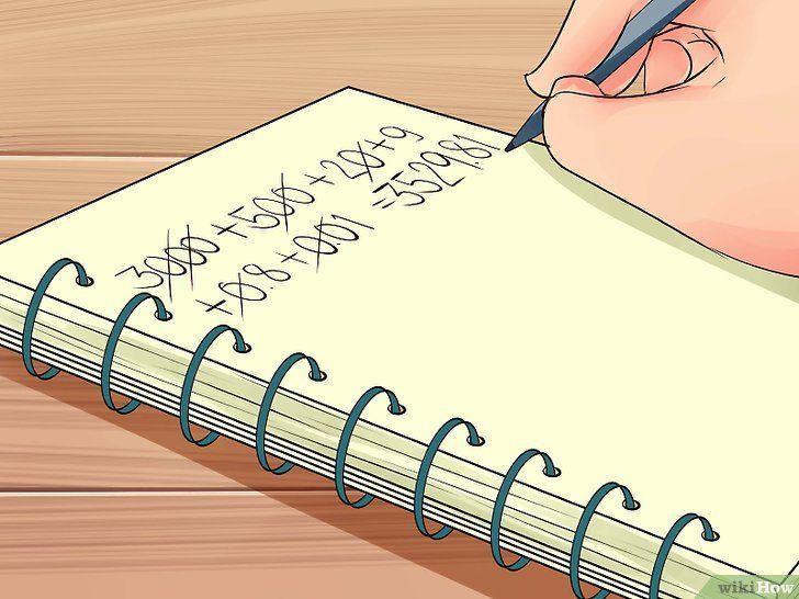Imaginea intitulată Scrieți numerele în formularul standard Pasul 3