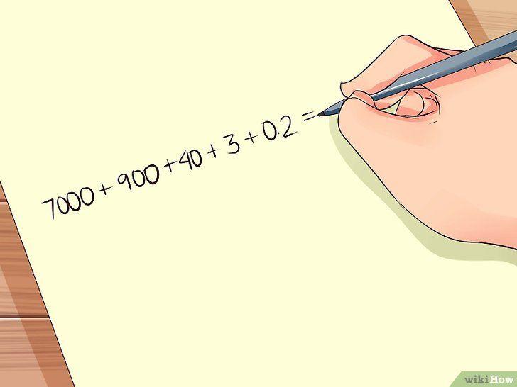 Imaginea intitulată Scrieți cifre în formularul standard Pasul 6