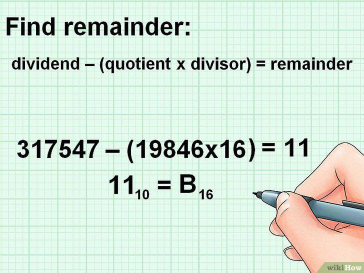 Imaginea intitulată Conversie de la Decimal la Pasul Hexadecimal 12