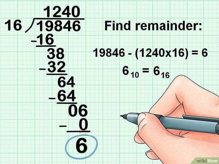 Imaginea intitulată Conversie de la Decimal la Pasul Hexadecimal 13