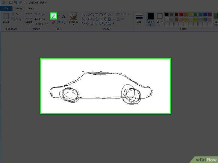 Desenați și colorați cu Microsoft Paint