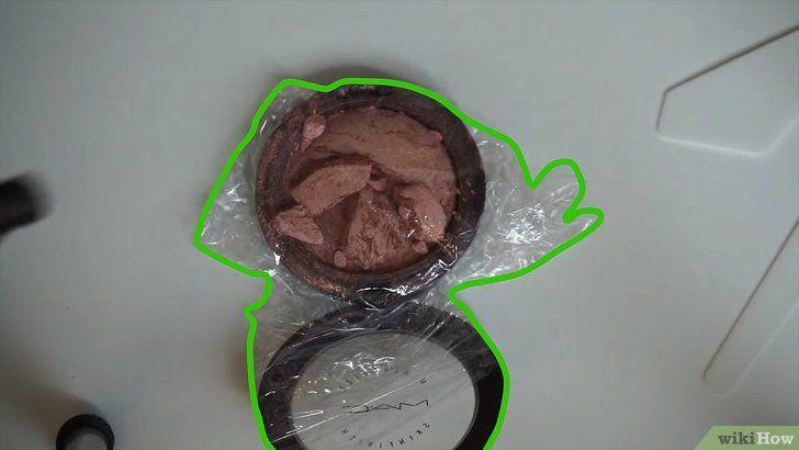 Restabiliți pulberea compactă ruptă