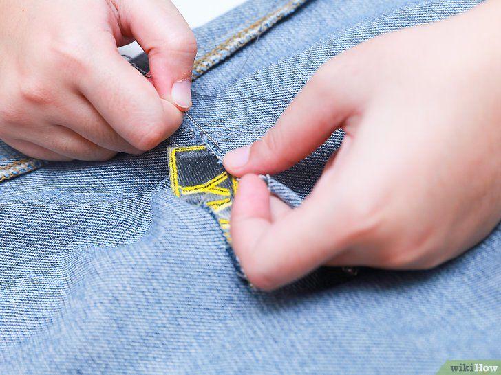 Imagine cu titlul Fix Jeans Ripped Pasul 13