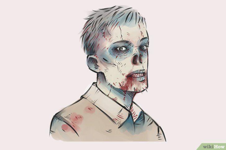 Imagine cu titlul Draw Zombies Pasul 18