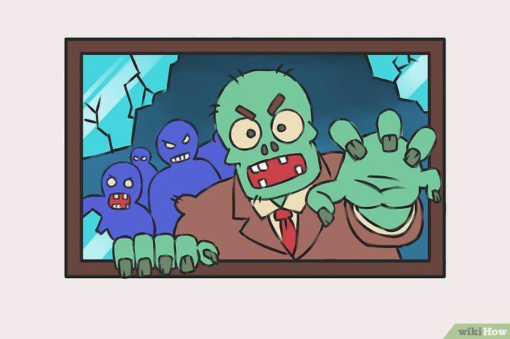 Imagine cu titlul Desen Zombies Pasul 10