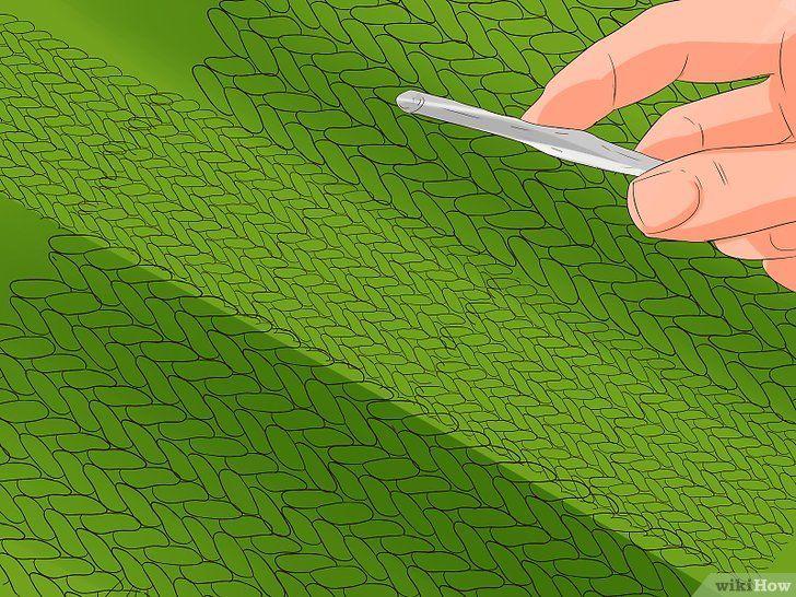 Imaginea cu titlul Stitch cu cablu pentru croșetat Pasul 11