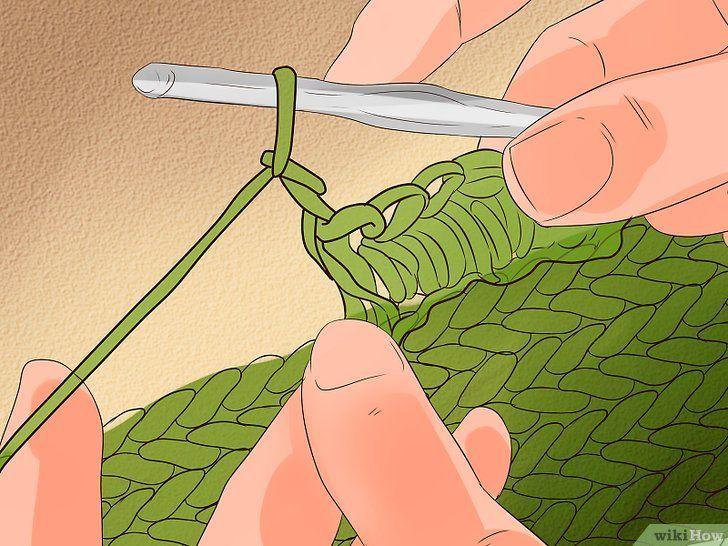 Imaginea cu titlul Stitch de cablu pentru croșetat Pasul 20