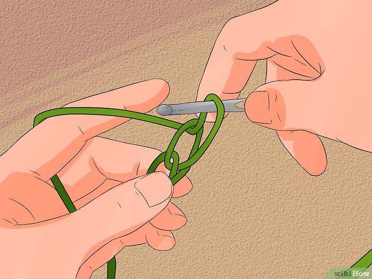 Imaginea intitulată Stitch Cable Crochet Stitch Pasul 2