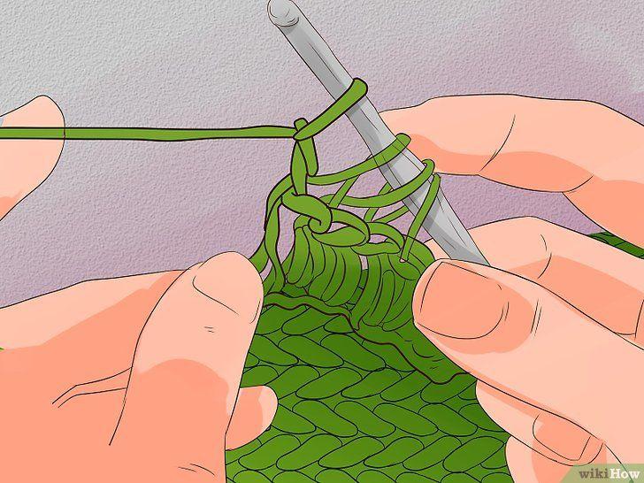 Imaginea cu titlul Stitch cu cablu pentru croșetat Pasul 22