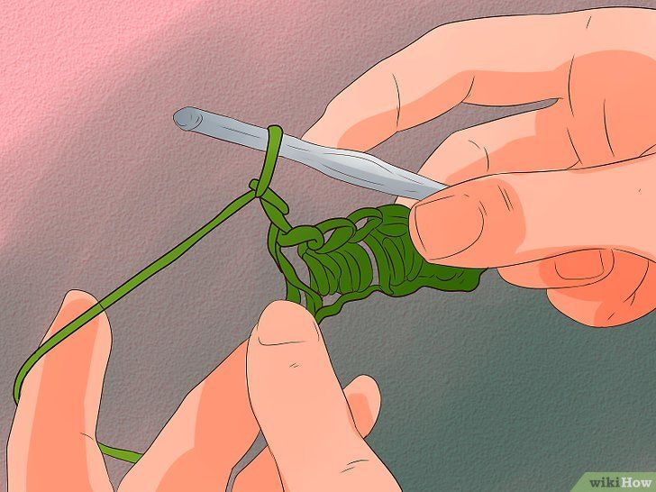 Imagine cu titlul Stitch de cablu pentru croșetat Pasul 3