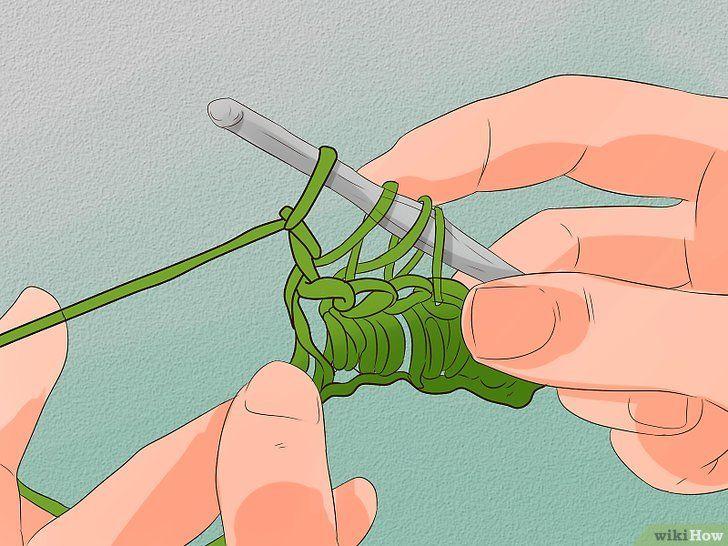 Imaginea intitulată Stitch Cable Crochet Step 4