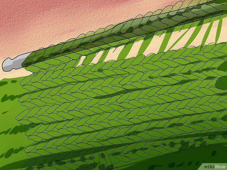 Imaginea cu titlul Stitch Cable Crochet Step 6