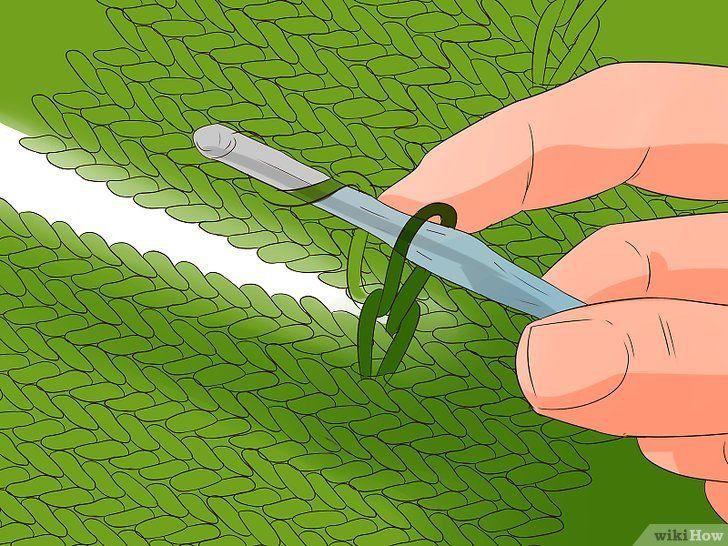 Imaginea intitulată Stitch Cable Crochet Step 10